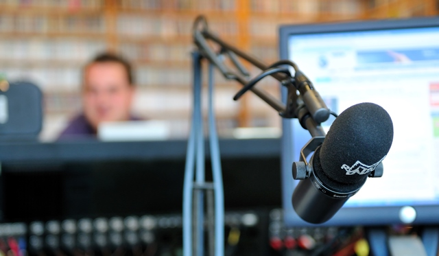 Radioaseman mikrofoni